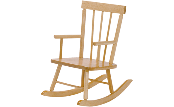 Chaise ber ante en bois brault bouthillier for Chaise berceuse