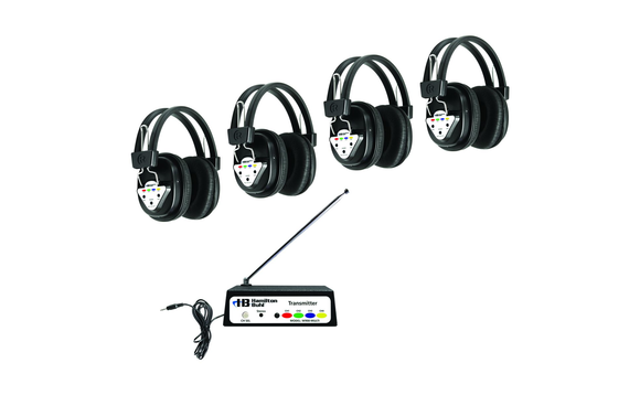 Centre d'écoute sans fil pour 4 personnes