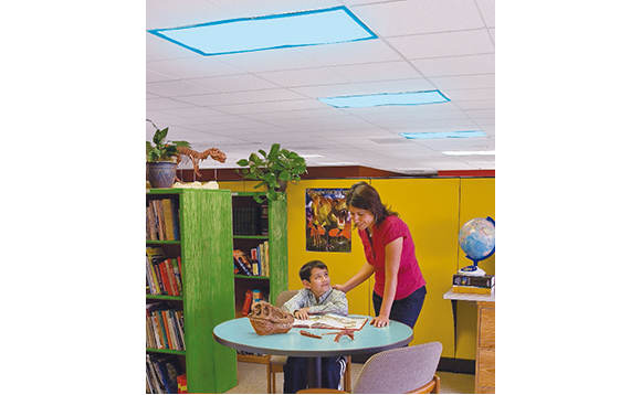 Classroom Light Filters - Plain blue - Brault & Bouthillier