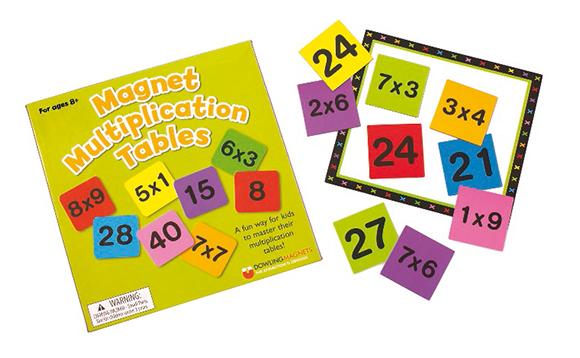 Magnet Multiplication Tables - Brault & Bouthillier