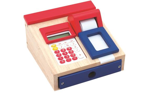 caisse enregistreuse en bois avec calculatrice brault bouthillier. Black Bedroom Furniture Sets. Home Design Ideas