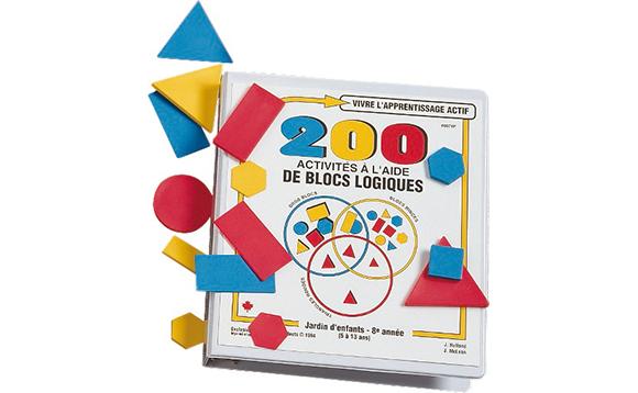 200 activit s l 39 aide des blocs logiques brault bouthillier - Blocs a bancher fiche technique ...