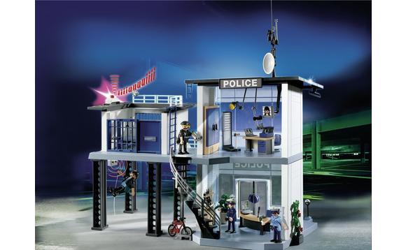 playmobil commissariat de police avec syst me d 39 alarme brault bouthillier. Black Bedroom Furniture Sets. Home Design Ideas