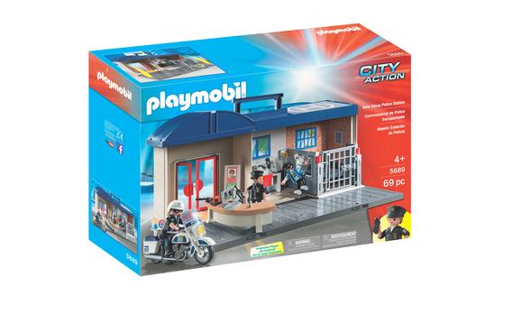 playmobil station de police brault bouthillier. Black Bedroom Furniture Sets. Home Design Ideas