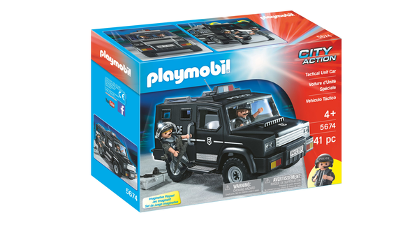 playmobil fourgon de police brault bouthillier. Black Bedroom Furniture Sets. Home Design Ideas