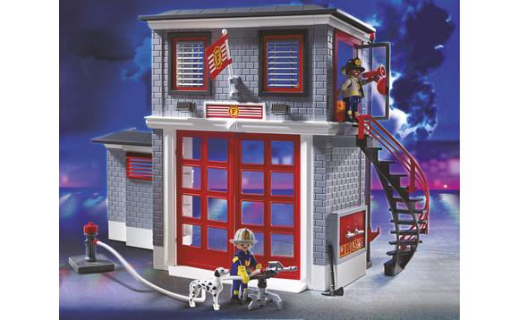 playmobil caserne de pompiers brault bouthillier. Black Bedroom Furniture Sets. Home Design Ideas