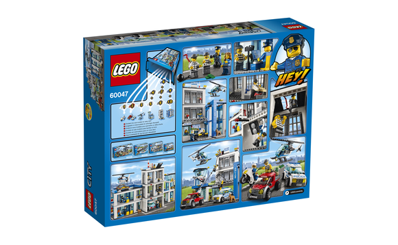 lego city le poste de police brault bouthillier. Black Bedroom Furniture Sets. Home Design Ideas