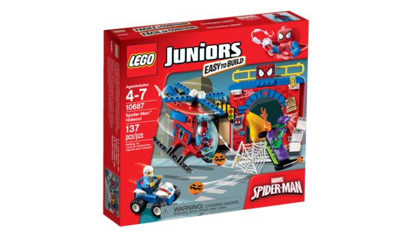 Lego juniors la cachette de spider man brault - Jeux lego spiderman gratuit ...