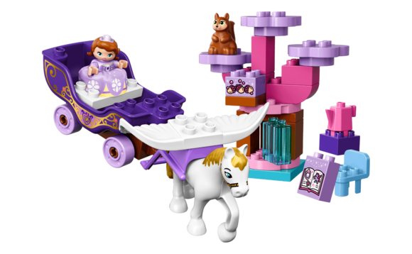 Princesse La Sofia Duplo® Carrosse Brault De Le Magique Lego® wN0X8PknO