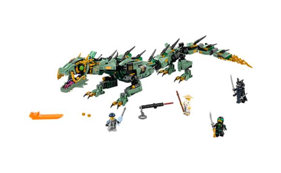 Lego ninjago le dragon robot du ninja vert brault bouthillier - Ninja vert lego ...