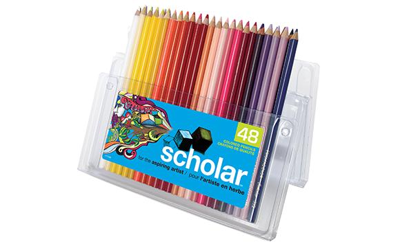 crayons de couleur prismacolor
