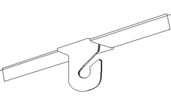 Crochets pour plafonds suspendus brault bouthillier for Accessoire plafond suspendu
