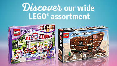 Discover our wide Lego assortment