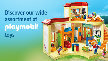 Discover our wide assortment of Playmobil toys